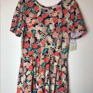 LuLaRoe 3XL Amelia Dress